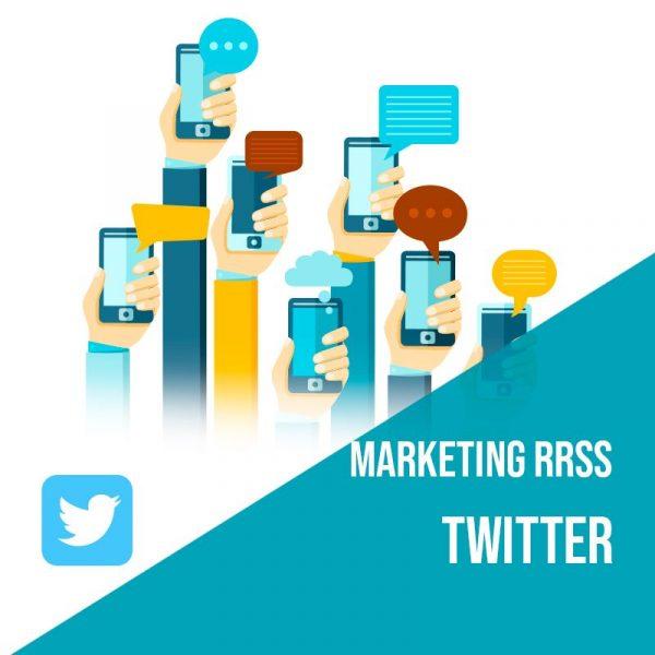 Plan Marketing Redes Sociales: Plan de gestión Twitter para empresas mensual. Gestión redes sociales.