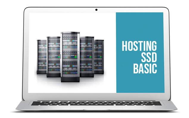 Hosting SSD Basic. Discos SSD.