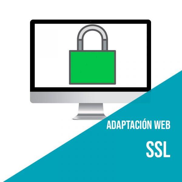 Adaptación web SSL