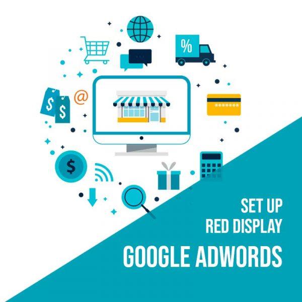 Set Up Red Display de Google Adwords. Configuración inicial publicidad en Google red display.