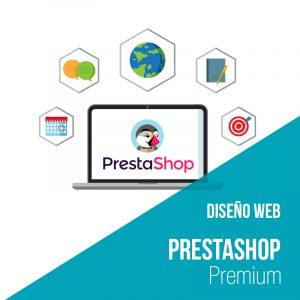 Plan diseño web prestashop Premium. Empresa desarrollo y diseño web.