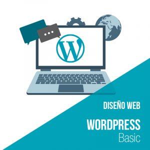 Plan diseño web Wordpress Basic: Empresa diseño y desarrollo web.