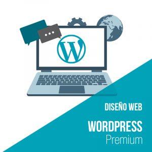 Plan diseño web wordpress Premium. Empresa desarrollo web y diseño web.