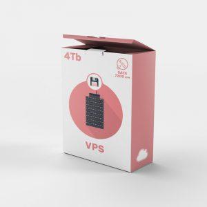 Alta seguridad de datos con Servidor VPS backups 4tb