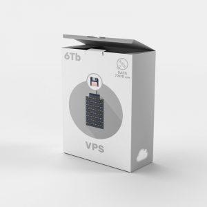 Servidor VPS backups 6tb