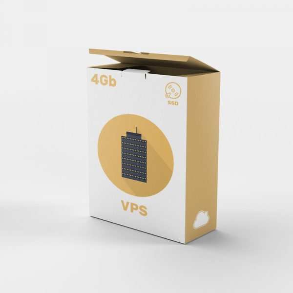 Servidor VPS SSD 4gb: Empresa alojamiento web. Servidor VPS.