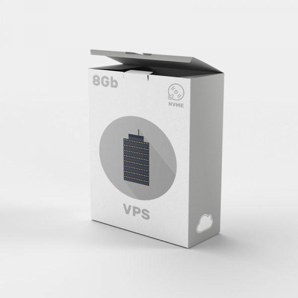 Servidor VPS SSD NVME 8gb: Empresa servicios alojamiento web.