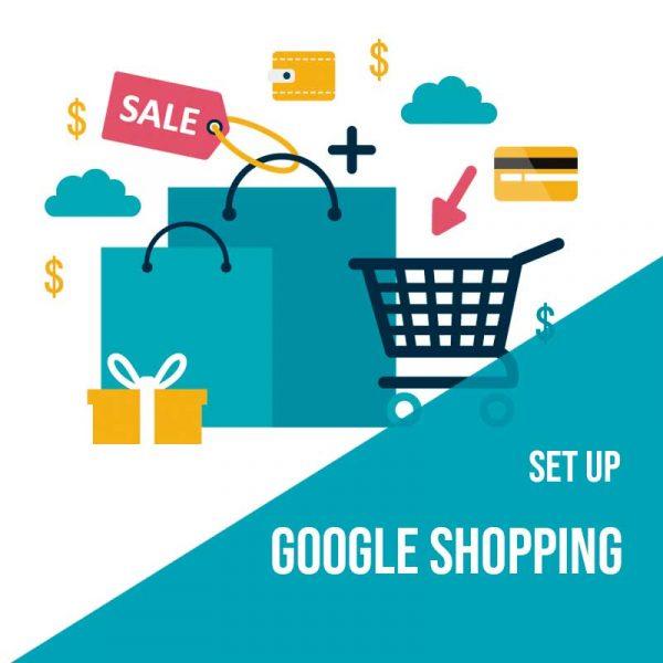 Plan Set Up Google Shopping. Agencia Adwords para aumentar el tráfico web y las ventas.