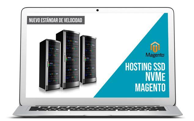 Hosting SSD NVMe Magento Hosting NVMe para Magento