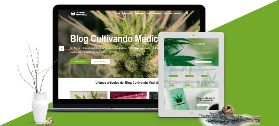 Cultivando Medicina: Diseño web Wordpress Responsive, Posicionamiento SEO, Blogging y Marketing online.