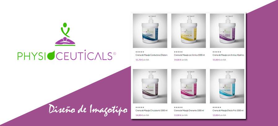 Diseño identidad corporativa&&en_ciudad&&: Physioceuticals