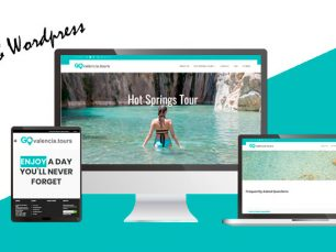 Diseño web Wordpress: GO Valencia Tours