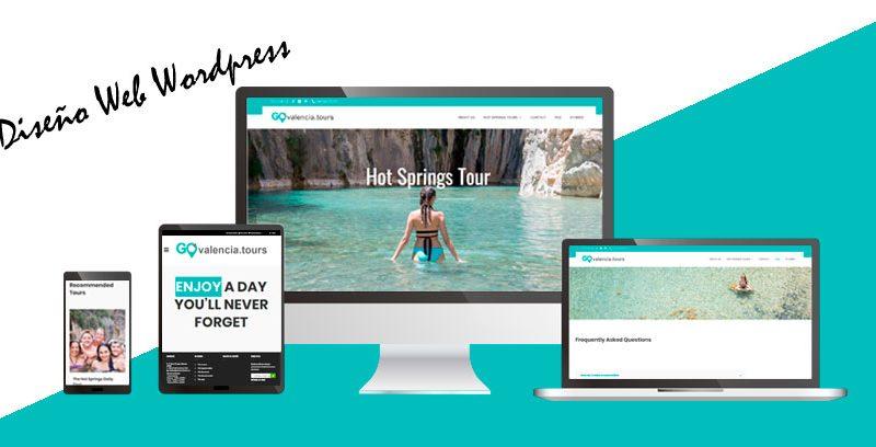 Diseño web Wordpress: GO Valencia Tours