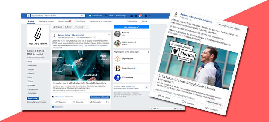 Marketing de redes sociales&&ciudad&& para promoción de máster universitario.