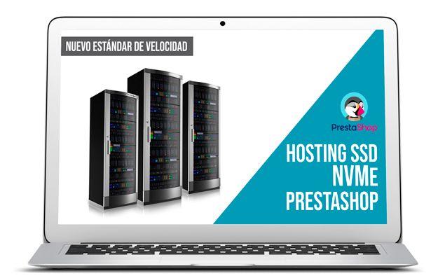 Hosting SSD NVMe Prestashop Hosting NVMe para Prestashop