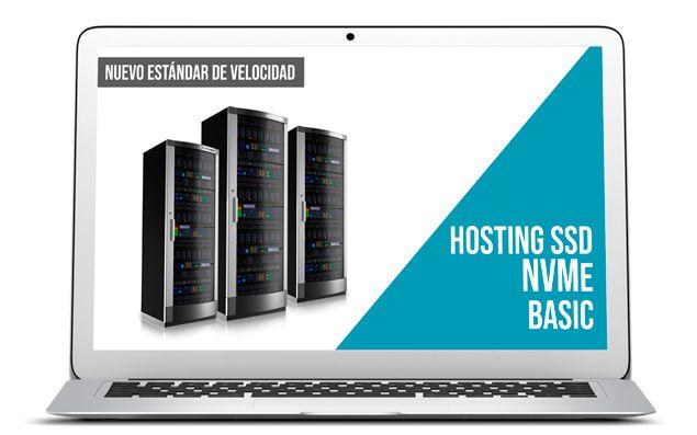 Servidor SSD NVMe Hosting NVMe