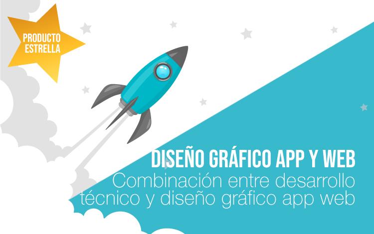 Producto estrella: Diseño gráfico para apps y webs. Diseño apps y diseño web.