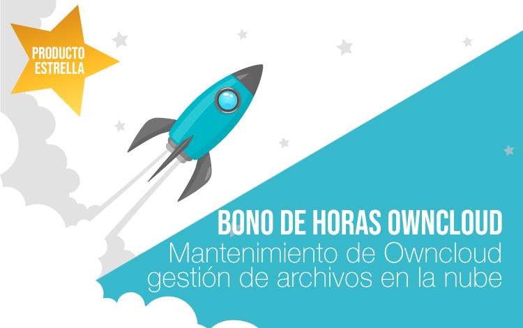 Bono de horas Mantenimiento owncloud. Gestión de archivos en la nube