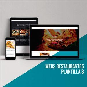 Crear página web restaurantes: Plantilla 3. GTMetrix.