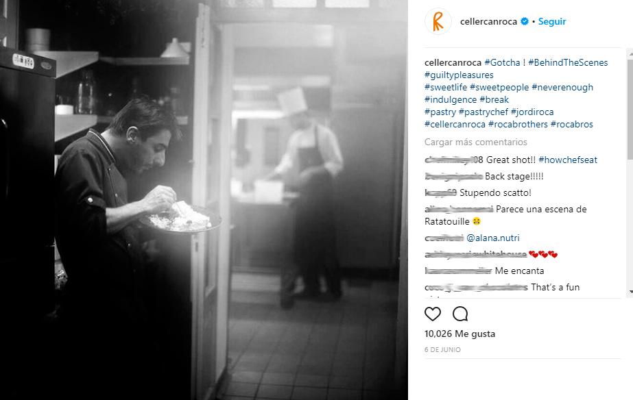 Redes Sociales para restaurantes: Celler Can Roca. Redes sociales para restaurantes