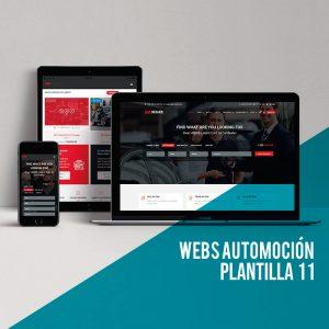 Diseño página web para el sector automoción: Web corporativa en wordpress.