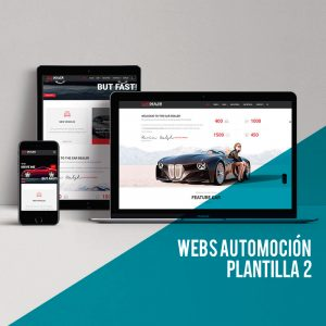 Diseño web automoción: Consigue el Wordpress Low Cost para tu web para automoción.