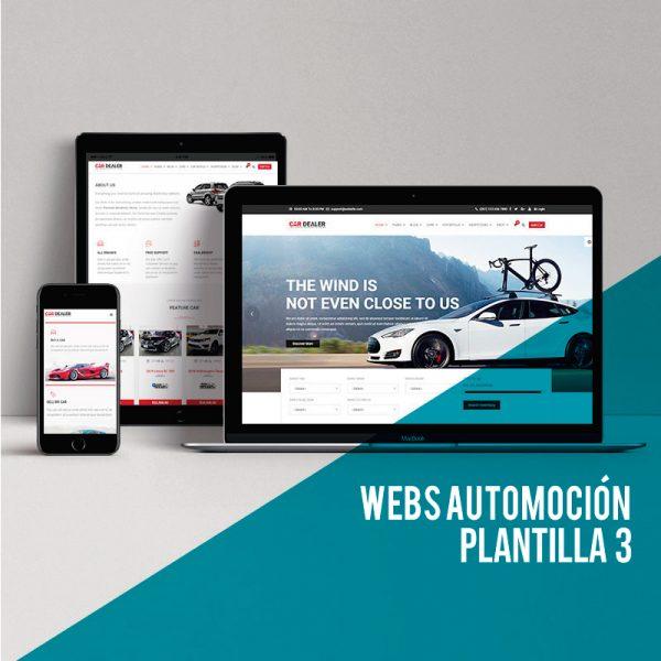 Diseño web concesionarios y talleres: Consigue el Wordpress Low Cost para tu web para automoción.