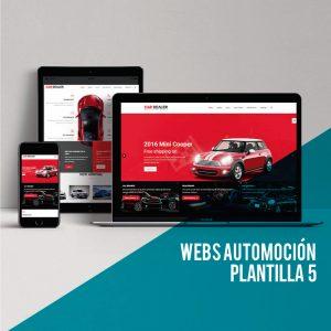 Diseño de la página web para tu concesionario. Web Automoción en Wordpress