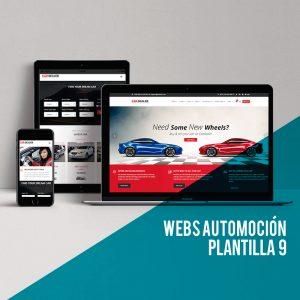 WordPress para automoción: Plantilla wordpress low cost para el diseño web para automoción.