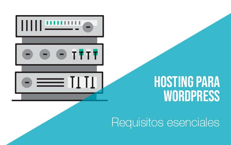 Servidores de alojamiento Hosting para wordpress