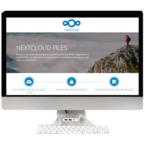 Implantación Nextcloud Files.
