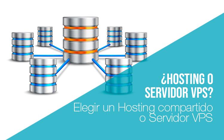Servidores de alojamiento Hosting compartido servidor VPS