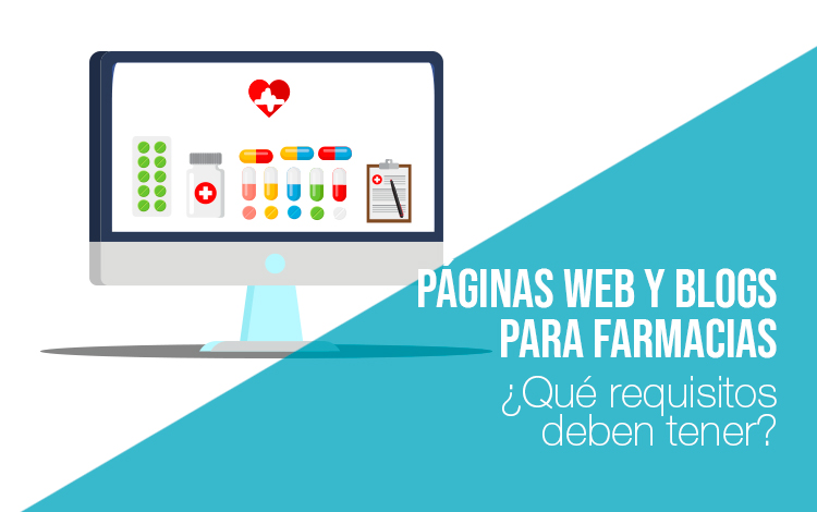 Marketing farmacéutico: Página web para farmacias Marketing farmaceutico
