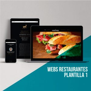 Webs para restaurantes: Plantilla 1